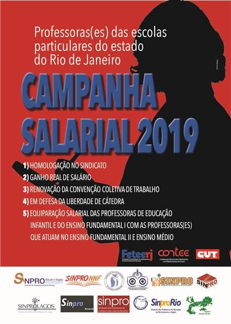 Professores das escolas particulares de Teresópolis, participem da Campanha Salarial 2019